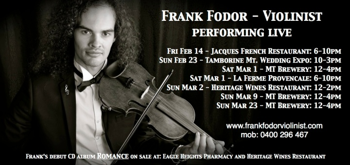 Performance Dates Feb-Mar 2014